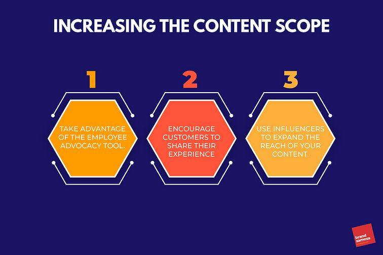 Increase the scope of your content