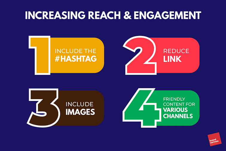 Methods to increase reach of your content